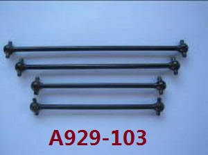 Wltoys A929 RC Car spare parts drive shafts A and B A929-103