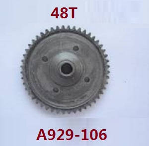 Wltoys A929 RC Car spare parts 48T reduction gear A929-106