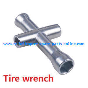 Wltoys A959 A959-A A959-B RC Car spare parts tire wrench
