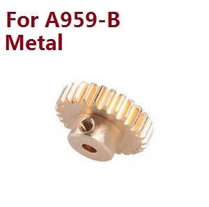Wltoys A959 A959-A A959-B RC Car spare parts copper gear