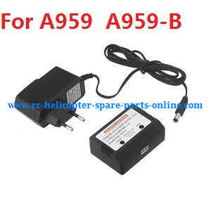 Wltoys A959 A959-A A959-B RC Car spare parts charger and balance charger box (A959 A959-B)
