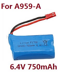 Wltoys A959 A959-A A959-B RC Car spare parts 6.4V 320mAh battery for A959-A