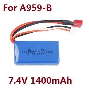 Wltoys A959 A959-A A959-B RC Car spare parts 7.4V 1400mAh battery for A959-B