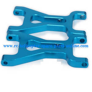 Wltoys A959 A959-A A959-B RC Car spare parts front aluminum swing arm (Upgrade metal Blue)