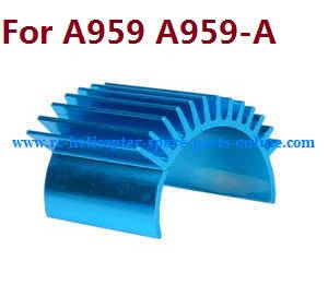 Wltoys A959 A959-A A959-B RC Car spare parts aluminum heat sink