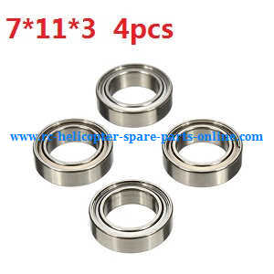 Wltoys A959 A959-A A959-B RC Car spare parts Bearing (7*11*3 4pcs)