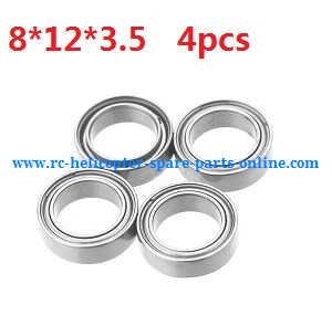 Wltoys A959 A959-A A959-B RC Car spare parts Bearing (8*12*3.5 4pcs)