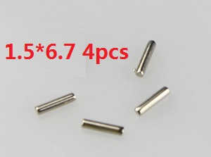 Wltoys A959 A959-A A959-B RC Car spare parts Axle pin 1.5*6.7 4pcs