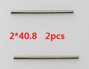 Wltoys A959 A959-A A959-B RC Car spare parts Swing arm pin 2*40.8 2pcs