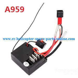 Wltoys A959 A959-A A959-B RC Car spare parts PCB board for A959