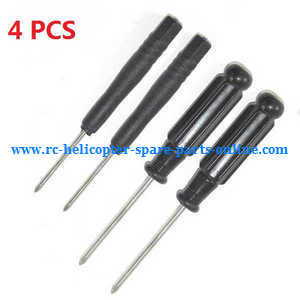 Wltoys A959 A959-A A959-B RC Car spare parts cross screwdriver (2*Small + 2*Big 4PCS)