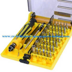 Wltoys A959 A959-A A959-B RC Car spare parts 45-in-one A set of boutique screwdriver