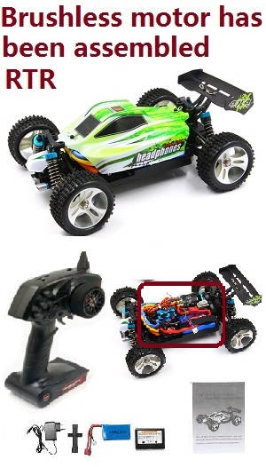 WLtoys A959 RC Car (Random color)