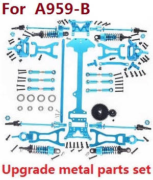 Wltoys A959 A959-A A959-B RC Car spare parts upgrade metal parts (For A959 A959-A)
