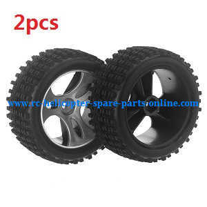 Wltoys A959 A959-A A959-B RC Car spare parts tire 2pcs