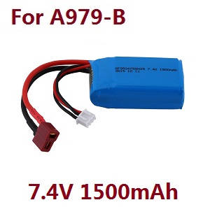 Wltoys A979 A979-A A979-B RC Car spare parts 7.4V 1500mAh battery (For A979-B)