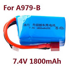 Wltoys A979 A979-A A979-B RC Car spare parts 7.4V 1800mAh battery (For A979-B)