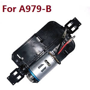 Wltoys A979 A979-A A979-B RC Car spare parts bottom board with main motor set (For A979-B)