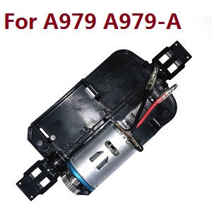 Wltoys A979 A979-A A979-B RC Car spare parts bottom board with main motor set (For A979 A979-A)