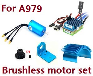 Wltoys A979 A979-A A979-B RC Car spare parts Brushless motor set for A979