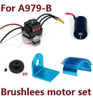 Wltoys A979 A979-A A979-B RC Car spare parts Brushless motor set for A979-B