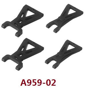 Wltoys A979 A979-A A979-B RC Car spare parts rear and front swing arms A959-02