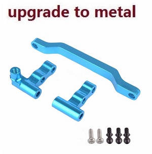 Wltoys A979 A979-A A979-B RC Car spare parts Steering connector + steering seat A + steering gear B (Metal)