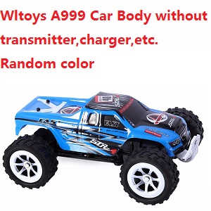 Wltoys A999 Car Body without transmitter,charger,etc. (Random color)