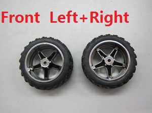 Wltoys A999 RC Car spare parts Front wheel (Left+Right)