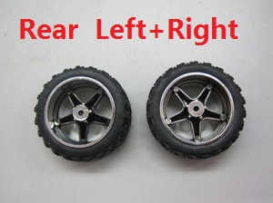 Wltoys A999 RC Car spare parts Rear wheel (Left+Right)