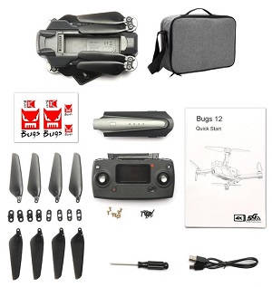 MJX B12 EIS RC drone with portable bag and 1 battery RTF