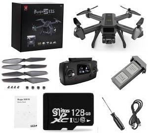 MJX B20 Bugs 20 EIS RC drone with 1 battery and 128G SD card