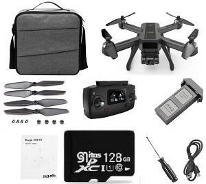 MJX B20 Bugs 20 EIS RC drone with 1 battery and 128G SD card and portable shoulder bag