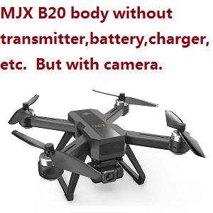 MJX B20 body without transmitter,battery,charger,etc. but with 4k camera.