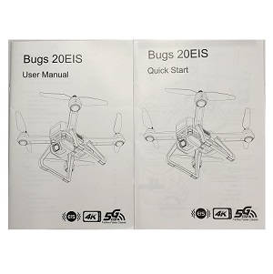 MJX B20 Bugs 20 EIS RC drone quadcopter spare parts English manual book