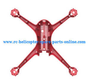 MJX Bugs 2 B2C B2W RC quadcopter spare parts lower cover (Red)