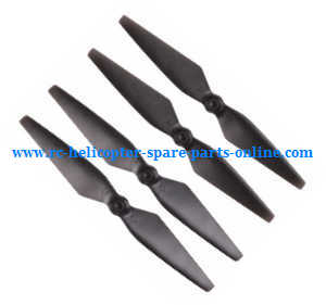 MJX Bugs 2 B2C B2W RC quadcopter spare parts main blades propellers (Black)