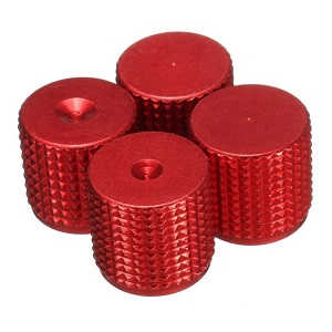 MJX Bugs 2 B2C B2W RC quadcopter spare parts aluminum cap of blades (2*CW + 2*CCW) [Red]