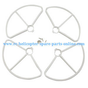 MJX Bugs 2SE B2SE RC Quadcopter spare parts protection frame set (White)