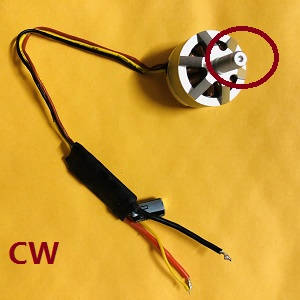 MJX Bugs 2SE B2SE RC Quadcopter spare parts brushless motor with ESC board CW