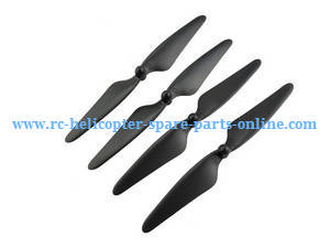 MJX Bugs 3H B3H RC Quadcopter spare parts main blades (Black)