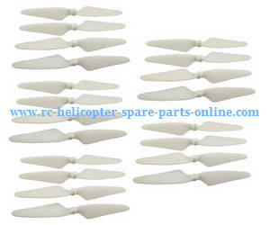 MJX Bugs 3H B3H RC Quadcopter spare parts main blades (White 5sets)
