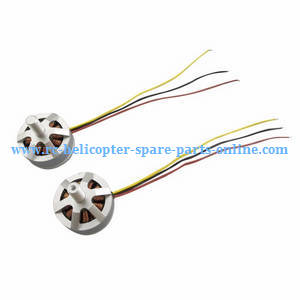 MJX Bugs 3H B3H RC Quadcopter spare parts main brushless motors (CW+CCW)