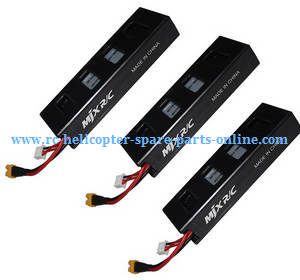 MJX Bugs 3H B3H RC Quadcopter spare parts 3*battery 7.4V 1800mAh