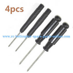 MJX Bugs 3H B3H RC Quadcopter spare parts CRoss screwdrivers (4pcs)
