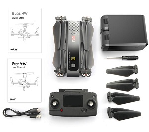 MJX Bugs B4W RC Drone with 4K WIFI camera, RTF