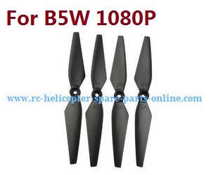 MJX Bugs 5W B5W RC Quadcopter spare parts Black main blades