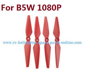 MJX Bugs 5W B5W RC Quadcopter spare parts Red main blades