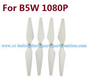 MJX Bugs 5W B5W RC Quadcopter spare parts White main blades