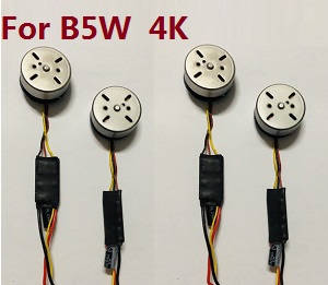 MJX Bugs 5W B5W RC Quadcopter spare parts brushless motors with ESC board (2*CW+2*CCW) (For B5W 4K version)